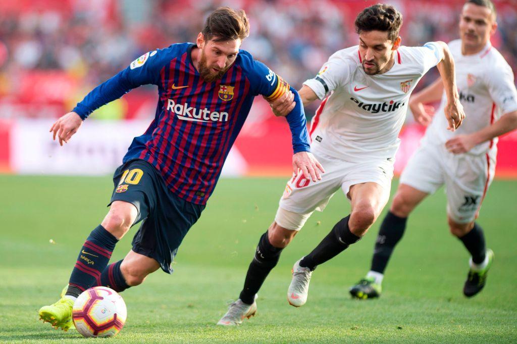 1) Lionel Messi (Barcellona): un dribbling riuscito ogni 19.2 minuti, percentuale di riuscita del 67%