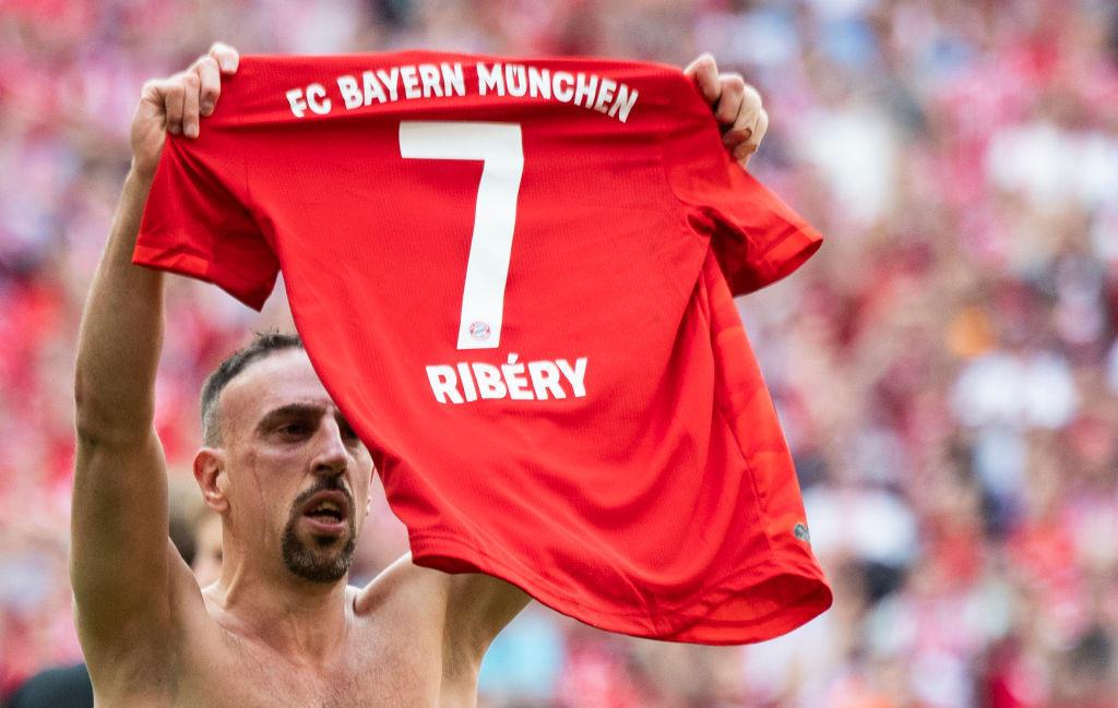Franck Ribery, 36 anni, ha salutato il Bayern Monaco