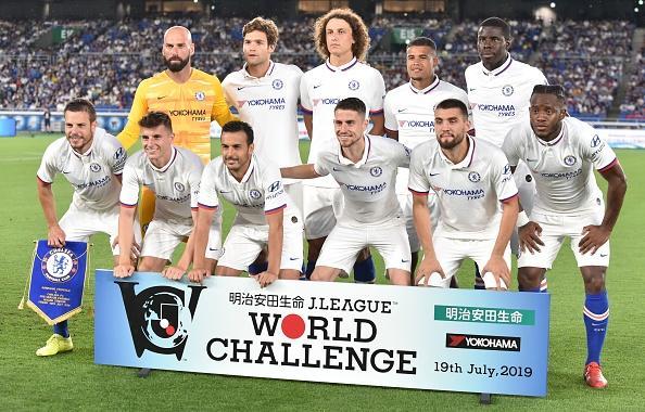La formazione titolare del Chelsea: c'è anche l'azzurro Jorginho