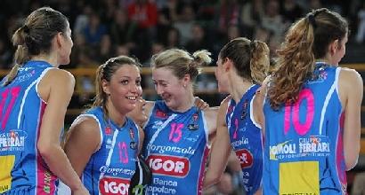 Volley, A1 femminile: volano Novara e Modena, Casalmaggiore ko