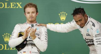 Hamilton Rosberg, AFP