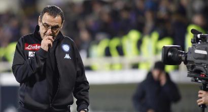 """Sarri: """"Juve-Milan? Ero col cane"""""""
