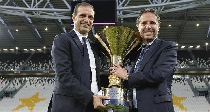 "Juve, Paratici conferma Allegri: ""Nessun dubbio"""