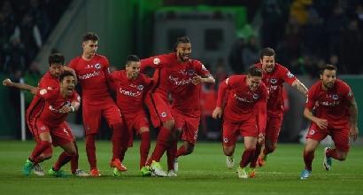 Coppa di Germania, Eintracht prima finalista