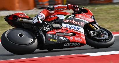 Sbk, novità in casa Ducati: la ruota posteriore lenticolare