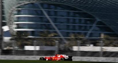 Formula 1, test di Abu Dhabi: Vettel il più veloce, Bottas secondo