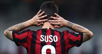Milan, Gattuso e il paradosso Suso: si torna al 4-3-3