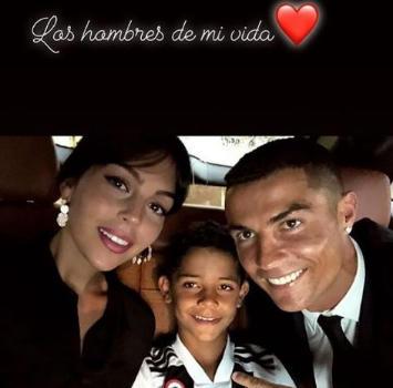 Ronaldo, Cristiano Jr con la maglia della Juve