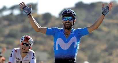 Vuelta, 2a tappa: colpaccio di Valverde, Kwiatkowski beffato ma in maglia rossa