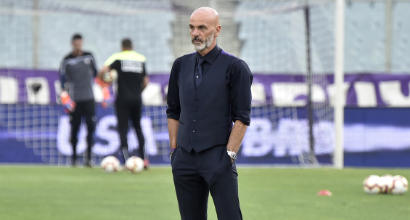 Serie A: Inter Fiorentina, Spalletti in panchina