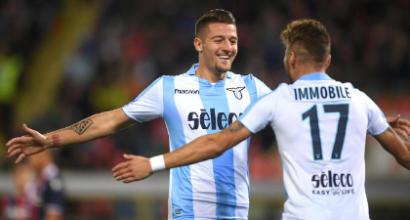 Lazio, comunicato ufficiale: Immobile e Milinkovic hanno rinnovato, clausola da 100 milioni per il serbo