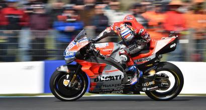 """MotoGP, Rossi: """"Serviva più coraggio"""""""