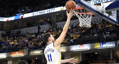 Nba: Golden State travolge anche Indiana, si interrompe la striscia dei Clippers