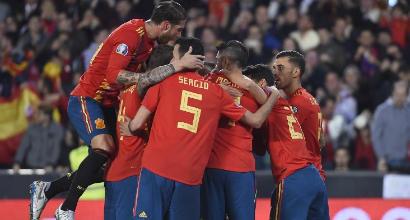 Qualificazioni Euro 2020: ok Spagna, Svizzera e Svezia, l'Irlanda fatica ma vince