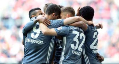 Bundesliga: 4-1 al Fortuna Düsseldorf, il Bayern Monaco torna capolista