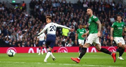 Premier League: Eriksen sfonda il muro del Brighton, Tottenham a +3 sul Chelsea