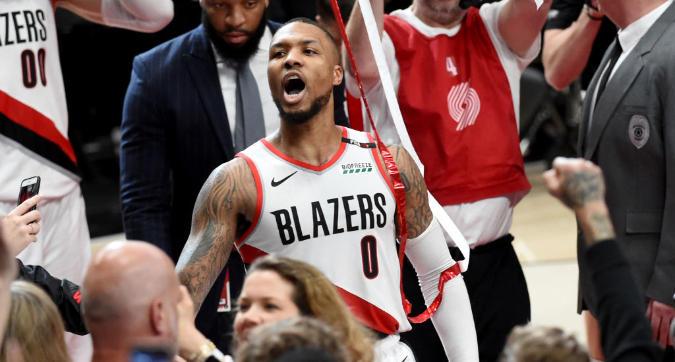 Nba, playoff: avanzano Toronto, Philadelphia e Portland, Denver domina gli Spurs di Belinelli