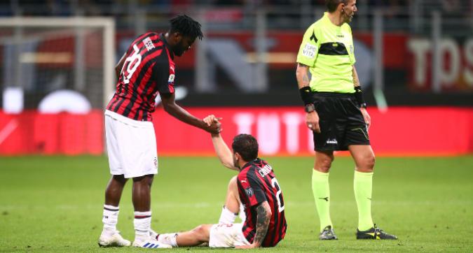 Milan, stagione finita per Calabria