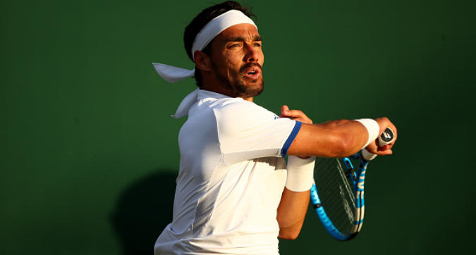 """Tennis, Wimbledon: Fognini rischia una piccola multa: """"Bravo a scusarsi"""""""