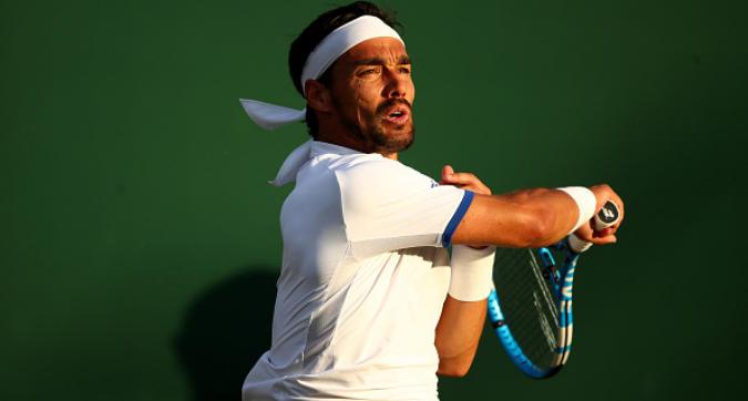 Tennis, Wimbledon: Fognini rischia una piccola multa: