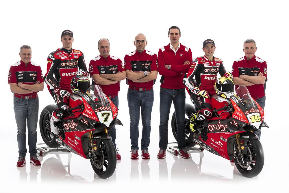 Superbike, ecco la Ducati di Davies e Bautista
