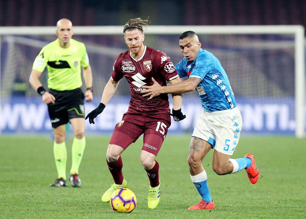 47) Cristian Ansaldi (Torino): un dribbling ogni 41.4 minuti, percentuale di realizzazione del 68%