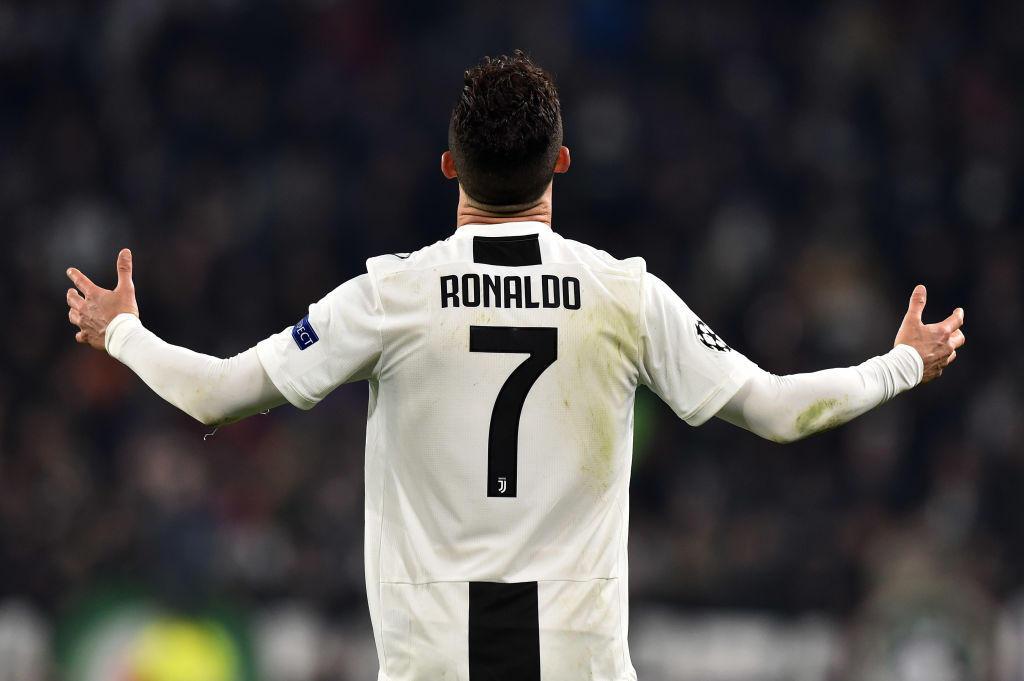 4) CRISTIANO RONALDO (Juventus) - 38