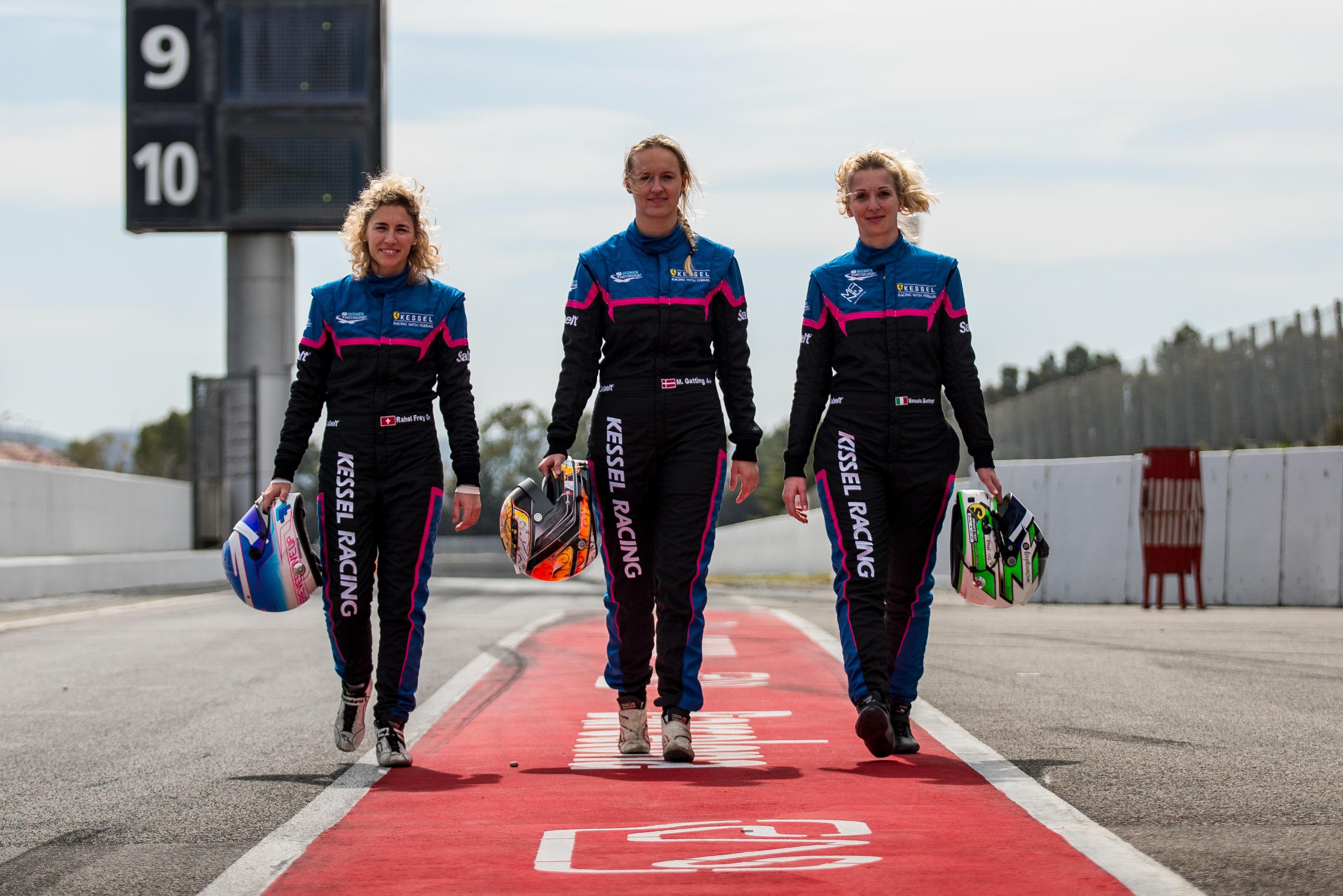 Kessel Racing: una Ferrari per tre donne