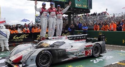 Il team Audi vittorioso (Reuters)