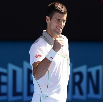 Djokovic, AFP