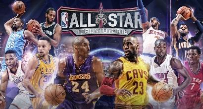 Nba, scelti i titolari per l'All Star Game: Bryant il più votato