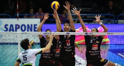 Volley, Champions: Trento e Modena show, ko indolore per la Lube