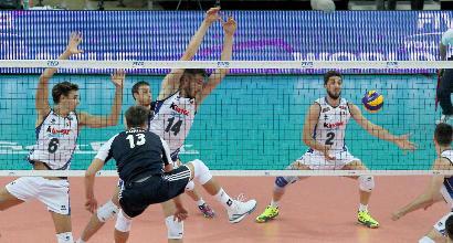 Volley, World League: l'Italia si schianta contro il muro polacco