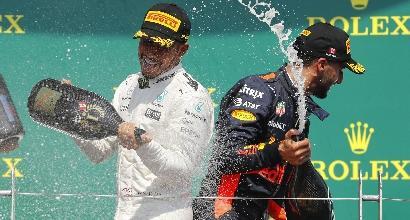 F1 Canada, le pagelle: Hamilton 10 e bacio accademico, Raikkonen ci crede