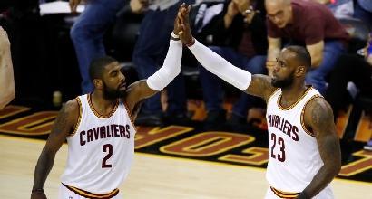 Nba, Irving ha chiesto di lasciare Cleveland