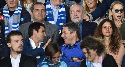 All'Olimpico presente anche De Laurentiis