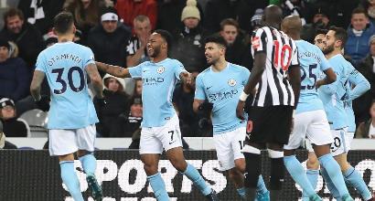 Come vedere in tv e diretta streaming Newcastle-Manchester City