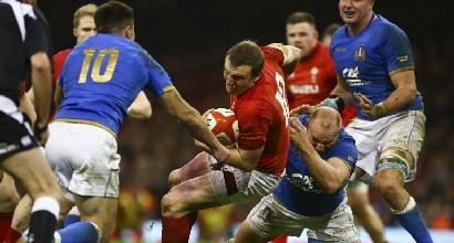 Rugby, Italia battuta in Galles