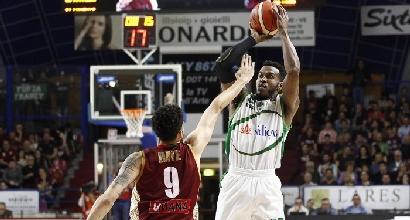 Basket, Serie A: Venezia batte Avellino e tiene il passo di Milano