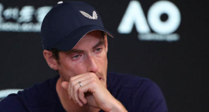"""Tennis, Andy Murray dice addio al tennis: """"Troppo dolore all'anca"""""""