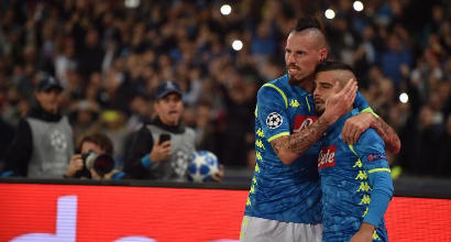 """Napoli, Insigne saluta Hamsik: """"Grazie di tutto amico mio"""""""