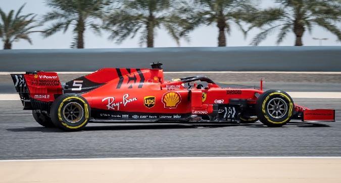 F1, Vettel chiude terzo nei test