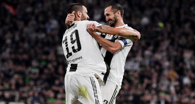 Juventus, Chiellini-Bonucci di nuovo muro bianconero