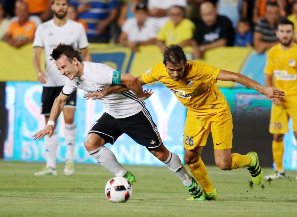 Champions: Apoel, che impresa: 3 gol nel recupero