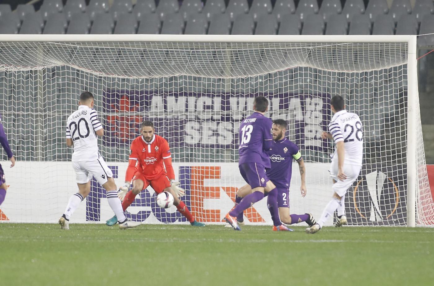 Europa League: Fiorentina beffata al 93'