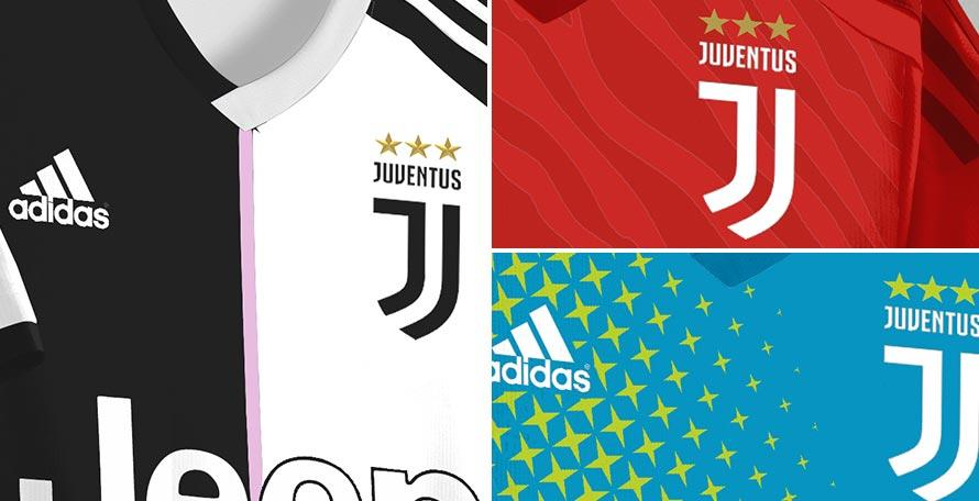 Juventus, le nuove maglie per il 2019/20