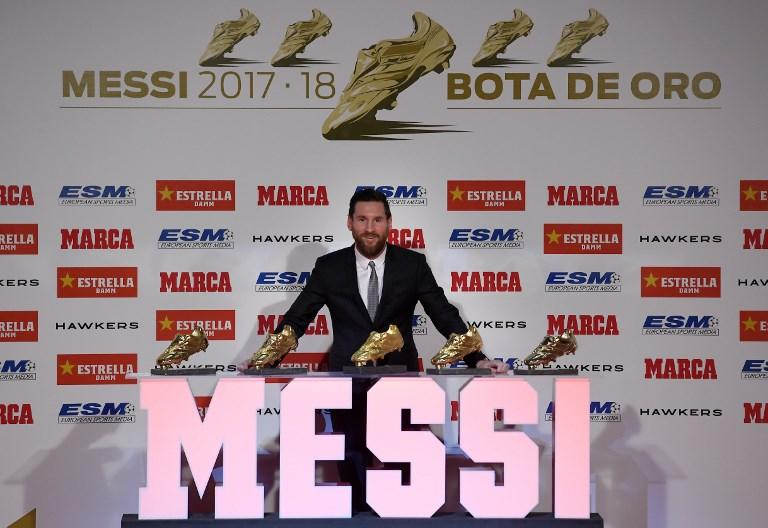 Messi Scarpa d'Oro per la quinta volta