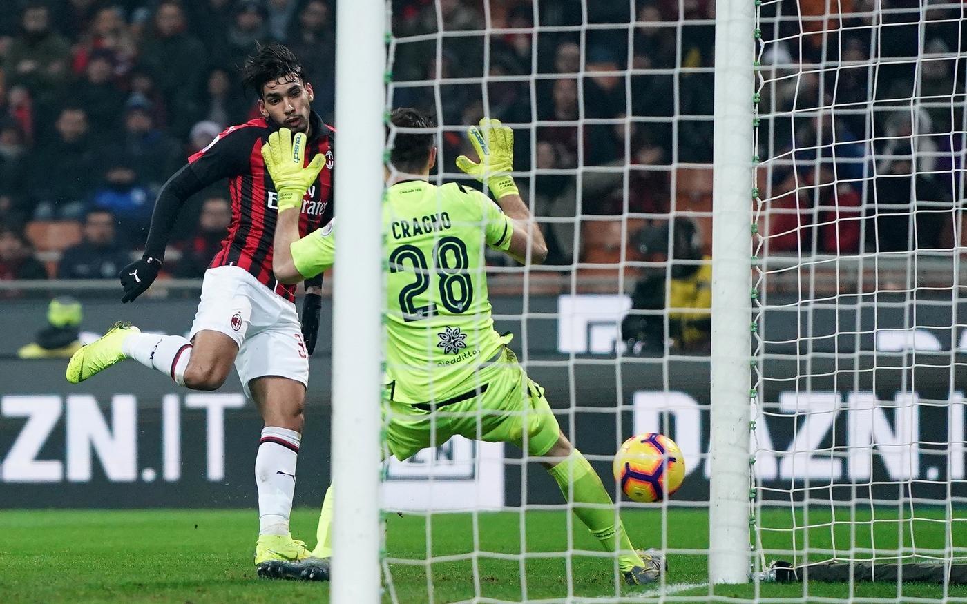 Milan: Paquetà, gol e lacrime