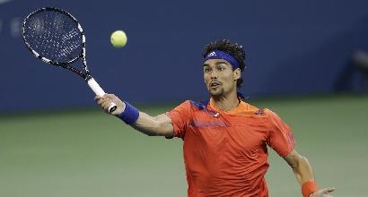 Tennis: Fognini avanza in Cina