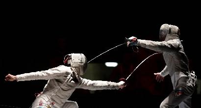 Diego Occhiuzzi in azione, foto Afp